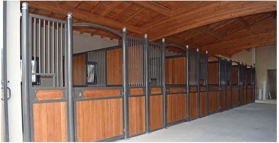 Pavimento In Gomma Per Box Cani : Frontali box badifarm