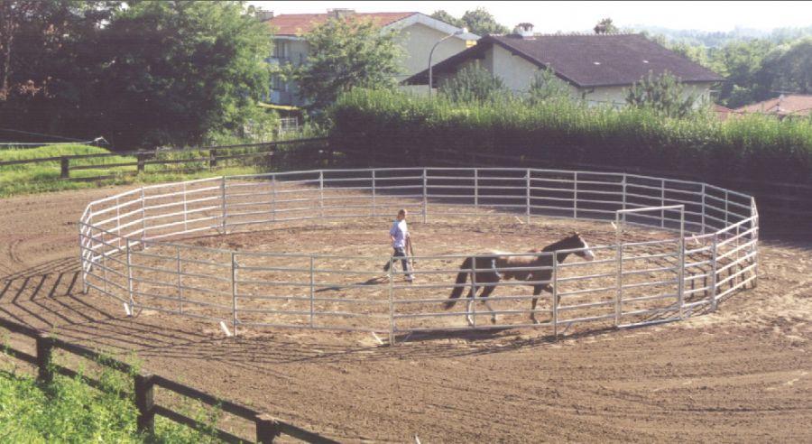 Tondino Per Cavalli.Esempi D Installazione Badifarm